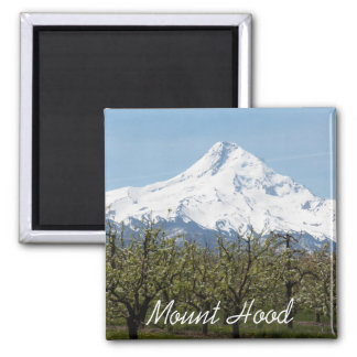 Mount Hood Orchards Photo Magnet