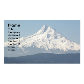 Mount Hood Peak Business Card