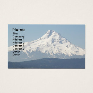 Mount Hood Photo Business Card