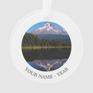 Mount Hood Reflected in Lake