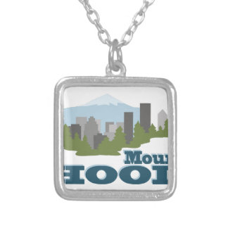 Mount Hood Silver Plated Necklace