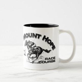 Mount Hope Race Course Two-Tone Coffee Mug