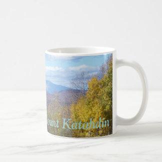 Mount Katahdin in fall 3 Coffee Mug