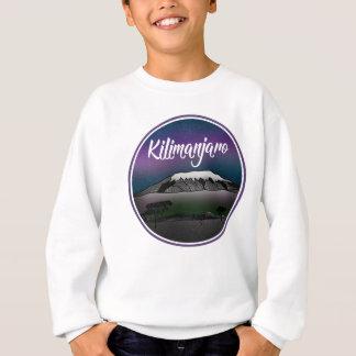Mount Kilimanjaro Landscape Sweatshirt