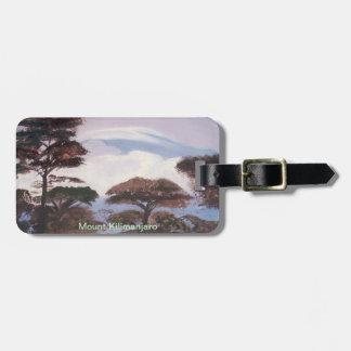 Mount Kilimanjaro - Luggage Tag