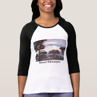 Mount Kilimanjaro Painting - Shirt