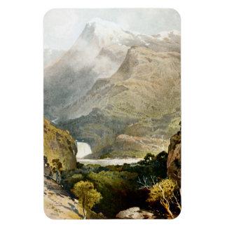 Mount Kosciuszko Australia c1880 Rectangle Magnets