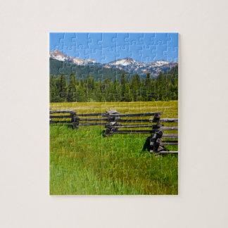 Mount Lassen National Park in California Jigsaw Puzzle