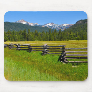 Mount Lassen National Park in California Mouse Pad