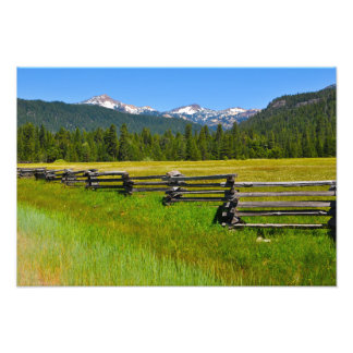 Mount Lassen National Park in California Photo Print
