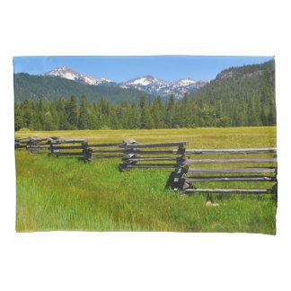 Mount Lassen National Park in California Pillowcase