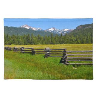 Mount Lassen National Park in California Placemat