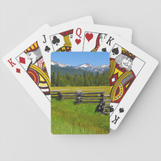 Mount Lassen National Park in California Playing Cards