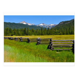 Mount Lassen National Park in California Postcard