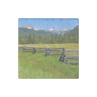 Mount Lassen National Park in California Stone Magnet