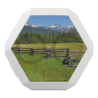 Mount Lassen National Park in California White Bluetooth Speaker