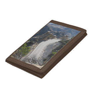 Mount Lemmon Highway Trifold Wallet