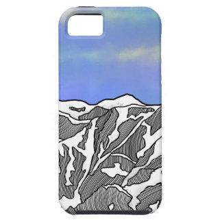 Mount Logan illustration Tough iPhone 5 Case
