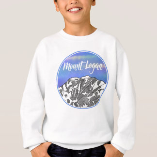 Mount Logan lnadscape Sweatshirt