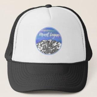 Mount Logan lnadscape Trucker Hat