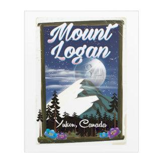 Mount Logan , Yukon, Canada Acrylic Wall Art