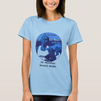Mount Marathon Blue_Purple, Mt. MarathonSeward,... T-Shirt