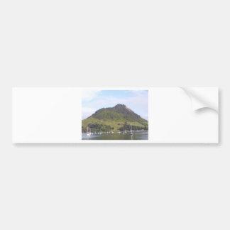 Mount Maunganui, Mauao, New Zealand Aotearoa Bumper Sticker