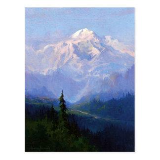 Mount McKinley, Alaska Postcard