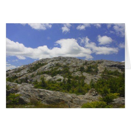 Mount Monadnock Summit Card