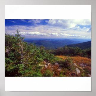 Mount Moosilauke Summit White Mountains Poster