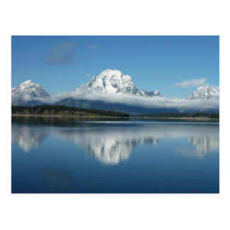 Mount Moran Reflection at Grand Teton Postcard