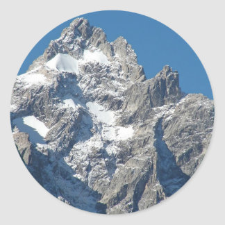 Mount Moran Round Sticker