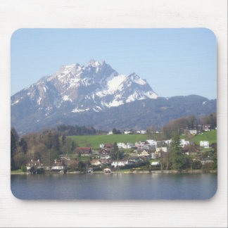 Mount Pilatus Switzerland Mouse Pad