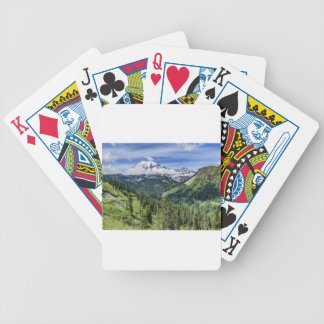 Mount Rainer Bicycle Playing Cards