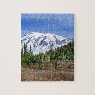 Mount Rainer Jigsaw Puzzle