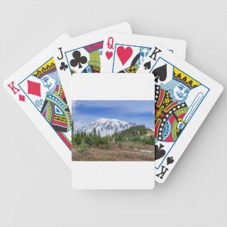 Mount Rainer Poker Deck