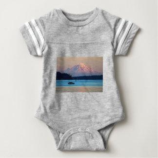 Mount Rainier Baby Bodysuit