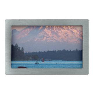 Mount Rainier Belt Buckle