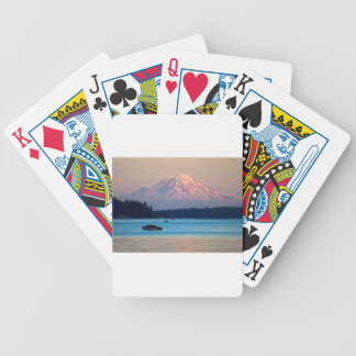 Mount Rainier Bicycle Playing Cards