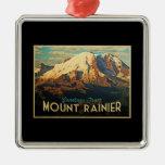 Mount Rainier Christmas Ornament