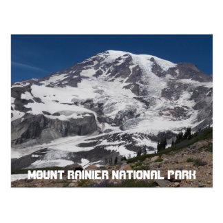 Mount Rainier Glacier Travel Postcard