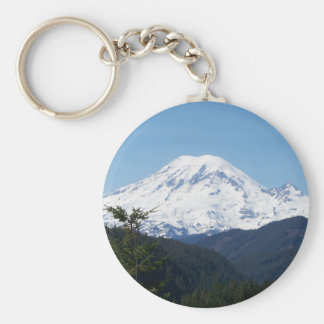 Mount Rainier Key Ring