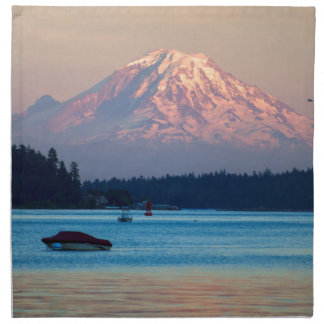 Mount Rainier Napkin