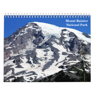 Mount Rainier National Park Calendar