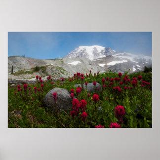 Mount Rainier National Park, Mount Rainier 1 Poster