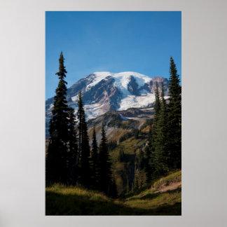Mount Rainier National Park, Mount Rainier 2 Poster