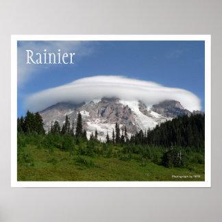 Mount Rainier National Park Poster Print