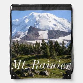 Mount Rainier National Park, WA. Spray Park Drawstring Bag