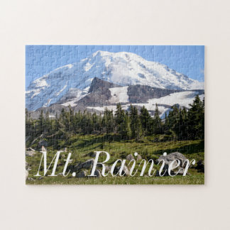 Mount Rainier National Park, WA. Spray Park Jigsaw Puzzle