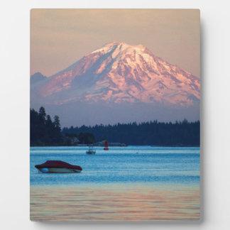 Mount Rainier Plaque